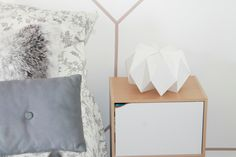 Pots origami and bricolage on pinterest - Comment faire une lampe de chevet ...