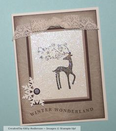 Dasher in Iridescent Ice by OregonStamper - Cards and Paper Crafts at Splitcoaststampers