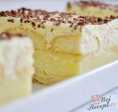 chute a vône mojej kuchyne. Slovakian Food, Vanilla Cake, Baked Goods, Sweet Recipes, Tiramisu, Cheesecake, Food And Drink, Yummy Food, Sweets