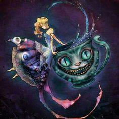 Alice en el pais de las maravillas❤❤