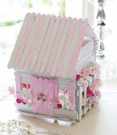 Popsicle Stick Fairy Doors Video Tutorial