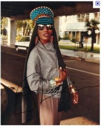 Grace Jones, sporty ethnic