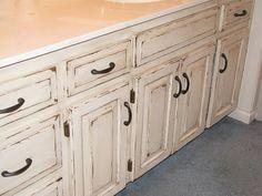 Veryyyyyyyyyyry Distressed Cabinets