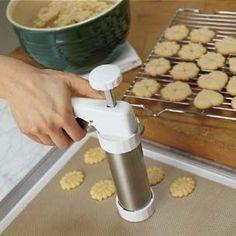 Pressed Sugar Cookies