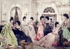 Photographed by Steven Meisel, Vogue, December 2010