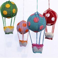 Hot Air Balloon amigurumi pattern