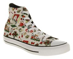 Converse Chuck Taylor High, Converse High, High Top Sneakers, Funky Shoes, Chuck Taylors High Top, High Tops, My Style, Fashion, Moda