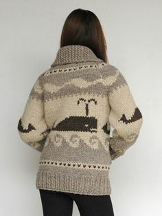 Spouting Whale Sweater