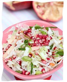 Pomegranate Coleslaw - Kosher Recipes & Cooking