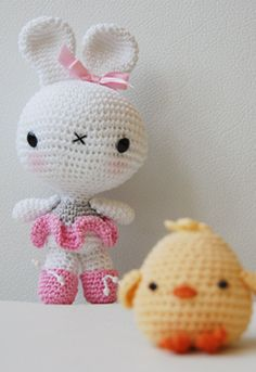 Amigurumi Bunny and chick pattern by Pepika - 6.00