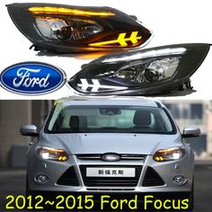 494.00$  Buy now - http://alic8z.worldwells.pw/go.php?t=32751758883 - car-styling,Car headlight,2009~2014,Free ship!chrome,kuga,Car fog,chrome,LED,car-detector,2ps+2pcs Aozoom Ballast,,car-covers 494.00$