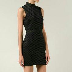 Elizabeth James Black Dress Brand new! Sheer at the top and middle. Elizabeth and James Dresses Mini