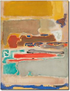 Mark Rothko, Multiform, 1948, oil on canvas 155 x 118.7 cm, National Gallery of Australia, Canberra © Kate Rothko Prizel and Christopher Rothko/DACS 2016