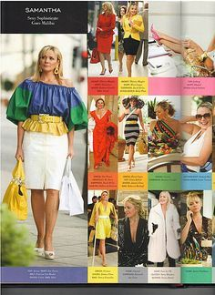 3c64225284 Samantha Jones Sphisticated Outfits   Sex And The City    MartaBarcelonaStyle s…