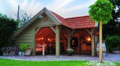 Outdoor living -p Outdoor Rooms, Outdoor Gardens, Outdoor Living, Shed Design, Patio Design, Gazebo, Backyard Storage Sheds, Outside Living, Garden Buildings