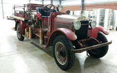 1932 Stutz Firetruck. ...  this vintage fire fighter took a ride from St Louis to Salisbury MD