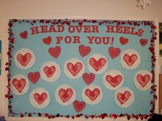 Valentines day bulletin board from 2009