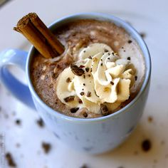 Hot Toddy for the Body  — Mexican Hot Chocolate with Dulce de Leche Cream with a little Rum...