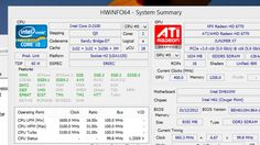 HWiNFO Provides More Info About Your Computer Than You'll Ever Need