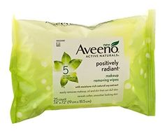 Positively Radiant Makeup Removing Wipes - 25 per pack -- 6 packs per case. ** Continue to the product at the image link.