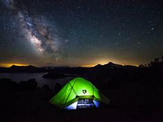 To camp beneath the Milky Way