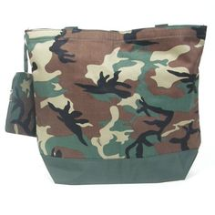 Baby Milano offer the best Camouflage Diaper Bag.