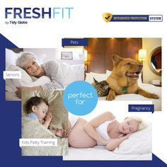 Give yourself a #comfortablesleep with #FreshFitBrand.. We provides not only #mattress but also #Comfortable #pillowprotector for all. Visit : http://freshfitbrand.com/