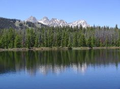 Sawtooth Adventure Company: This is a hike we took above Red Fish lake to the Bench Lakes,  Simply beautiful.