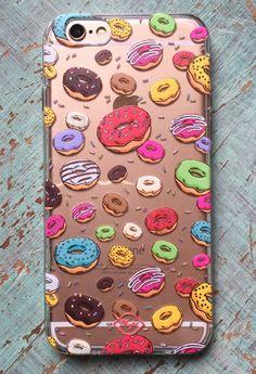 Carcasa Celular : Too Much Donuts