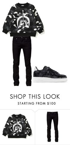 """""""OOTD~King"""" by skittles-se ❤ liked on Polyvore featuring Tiger of Sweden, NIKE, men's fashion and menswear"""
