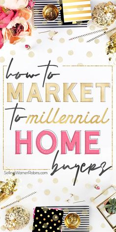 Great tips for realtors and real estate professionals on how to effectively market to millennials. This millennial real estate guide dives deep into the best marketing methods and technology to use to reach out to millennial home buyers. Real estate agents that employ progressive and tech-savvy marketing techniques are the ones that will attract millennials. Make yourself one of them! #realestate #realtors #millennials #realestatemarketing #realestatetips Real Estate Staging, Real Estate Buyers, Real Estate Investor, Selling Real Estate, Real Estate Marketing, Home Buying Tips, Home Buying Process, Real Estate Gifts, Real Estate Video