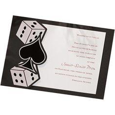 Let's Gamble Invitation