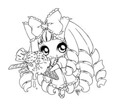 which is sweeter. by sureya which is sweeter. by sureya Chibi Coloring Pages, Cool Coloring Pages, Disney Coloring Pages, Coloring Sheets, Coloring Books, Anime Lineart, Free Adult Coloring, Creation Art, Black And White Drawing