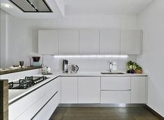 cocina blanca - Buscar con Google