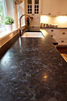 Kitchen half island with granite worktop white kitchen cabinets