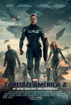 """""""Capitão América - O Soldado Invernal"""" estreia em 10 de Abril de 2014. Trailer: http://youtu.be/V6fiVi-Ft24"""