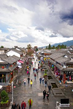 The ancient town of Dali is a must-see spot for anyone traveling in China's Yunnan Province. via Discover China