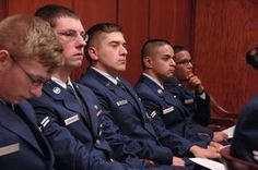 Airmen get inside look at military judicial system
