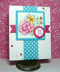 CC583 DT Sample- Stef's card