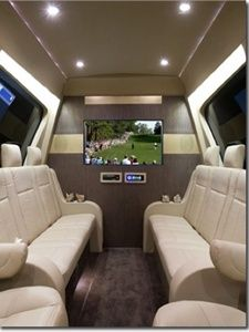 Mauck2 Executive Sprinter Van - LCT Magazine. YES!! This is awesome!!
