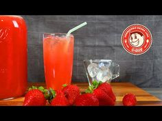 Limonada con Fresa - Como hacer Limonada - Strawberry Lemonade - El Guzii