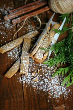Best Holiday Recipes - Gingerbread Sticks - Craftberry Bush