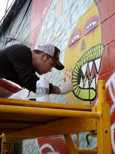 When it comes to parties at SXSW, music and booze just doesn't cover it anymore. Trover is throwing a 4-day Graffiti party at the East Side Drive In where you can come express yourself with a spray paint can.
