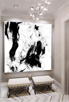 Large Abstract Art Original Abstract Painting Black And White Black Canvas Art White Art Texture Canvas Art Contemporary Art Painting Painting Art Oil Black and white Contemporary Art Abstract Black Canvas Art, Textured Canvas Art, Large Canvas Art, Diy Canvas Art, Painting Canvas, Painting Abstract, Hand Kunst, Art Texture, Black And White Artwork