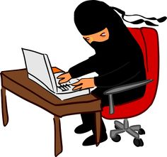 Find out why this ninja is destroying the periodic table. #dynanim #humor