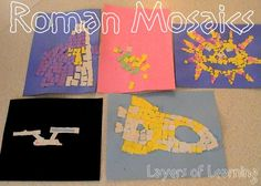 Roman Mosaics MFW Rome to the Reformation wk 3