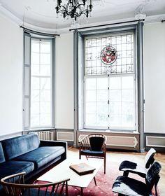 17th Century headquarters of haute couture house Viktor & Rolf / ph: kasia gatkowska