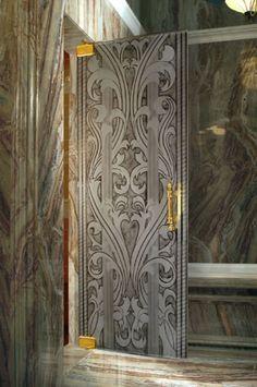 CBD Contemporary Kitchen Bath Design Custom arhitectural textured glass New York Chicago Toronto