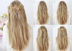 15 Tipos de peinados con trenzas que te encantarán Latest Hair Trends, Cosmetology, My Hair, Hair Makeup, Braids, Hair Beauty, Dreadlocks, Long Hair Styles, Beautiful