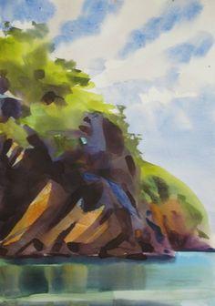 Watercolors by Tom Hoffmann